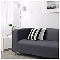 IKEA КЛИППАН Диван 2-местный, Висле серый : S79010614,