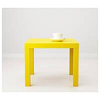 IKEA ЛАКК Придиванный столик, желтый : 10324278, 103.242.78
