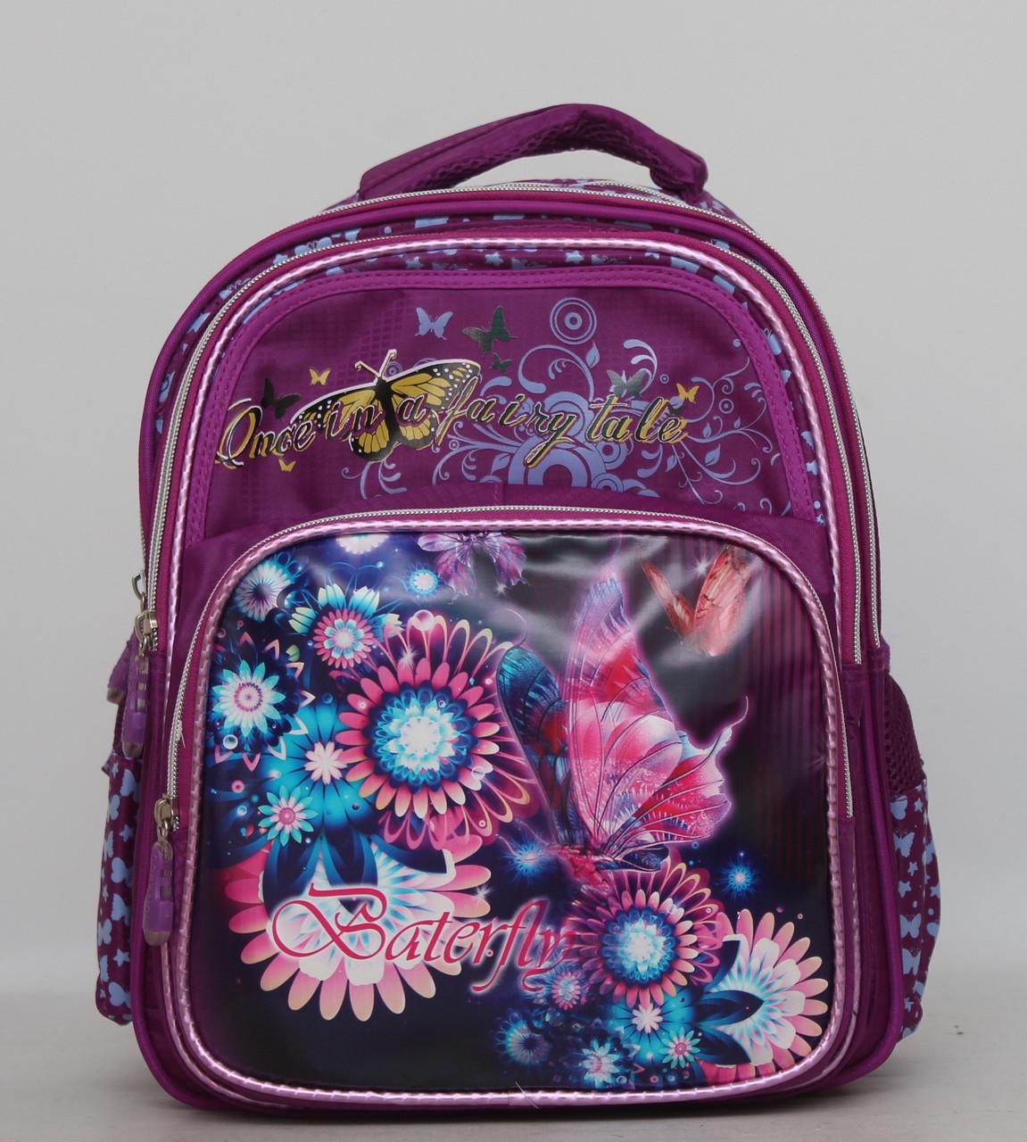 Детский рюкзак для девочки. Рюкзак для школы. Ортопедическая спинка. Хорошее качество. Купить. Код: КДН566
