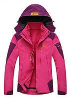 Отличная женская куртка 3в1 JACK WOLFSKIN. Высокое качество. Стильная и удобная куртка. Купить. Код: КДН568
