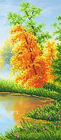"""Схема для вышивки бисером на подрамнике (холст) """"Осенний пейзаж-3"""""""