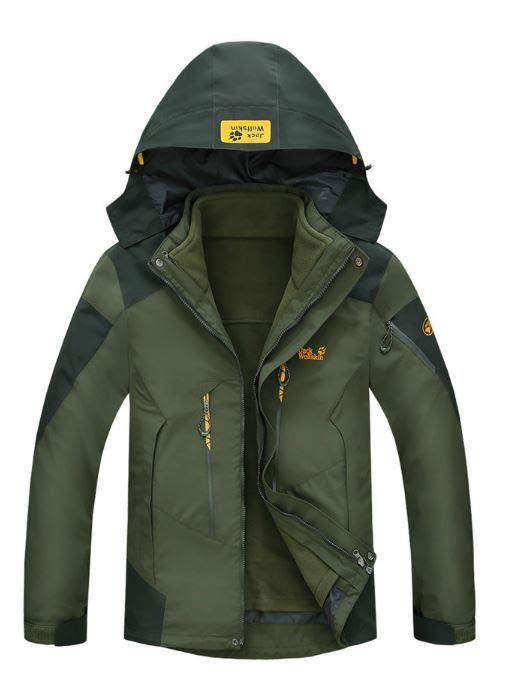 38b7062b Брендовые мужские куртки 3в1 JACK WOLFSKIN. Отличное качество. Стильный  дизайн. Купить онлайн.