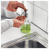IKEA БЕСТОЭНДЕ Дозатор для моющего средства, прозрачное стекло : 80233963, 802.339.63