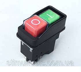 Кнопка (пускач) для бетономішалки на 4 контакту