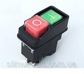 Кнопка (пускатель) для бетономешалки на 4 контакта