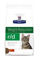 Hills (Хиллс)Prescription Diet Feline r/d - лечебный корм для кошек при ожирении 5кг