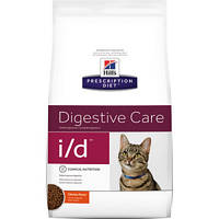 Hills (Хиллс)Prescription Diet Feline i/d - лечебный корм при заболеваниях ЖКТ, панкреатите 400г
