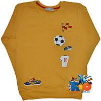 """Детский батник """"Football"""" , из трикотажа , для мальчиков от 8-12 лет"""
