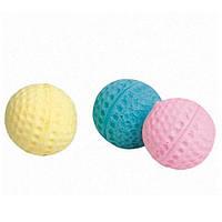 Karlie-Flamingo (Карли-Фламинго) BALL SPUNGY спонж, игрушка для кошек, мяч поролоновый, 4см
