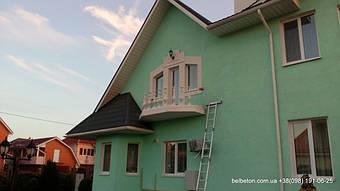 Монтаж бетонных балясин В9