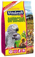Корм для крупных африканских попугаев, жако Vitakraft (Витакрафт) African, 750 гр