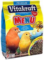 Корм для канареек с медом Vitakraft (Витакрафт) Menu Vital, 500 гр