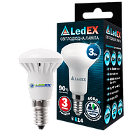 Рефлекторная лампа LED R39, 3Вт, Е14, 4000К, 285Лм, Ledex