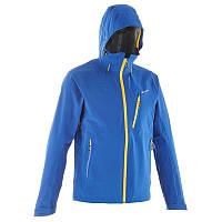 Куртка мужская демисезонная Quechua TREKKING FORCLAZ 400 синяя
