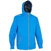 Куртка мужская водонепроницаемая Tribord RAINCOASTAL голубая
