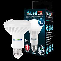 Рефлекторная лампа LED R63, 7Вт, Е27, 4000К, 665Лм, Ledex
