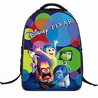 Качественный рюкзак с принтом для школьников
