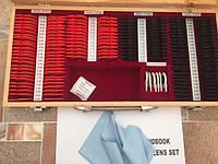 Набор офтальмологических пробных очковых линз на 158 линз в пластиковой  оправе