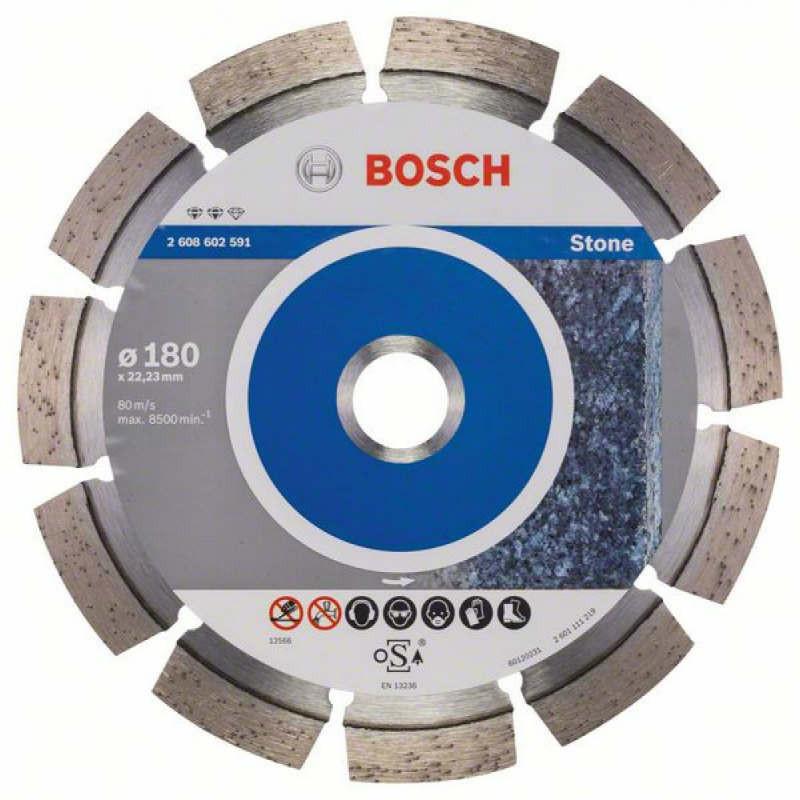 Алмазный отрезной круг Bosch Expert for Stone180x22,23