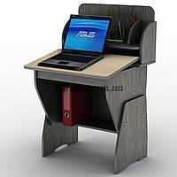 Универсальный  регулируемый компьютерный стол полками, СУ- 17, венге магия+ дуб молочный