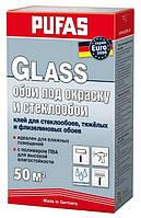 Клей Pufas Euro3000 Glass для стеклообоев, тяжёлых и флизелиновых обоев 500г