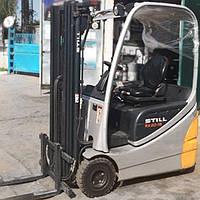 Вилочный электро-погрузчик STILL RX 20-15, 1500 кг, высота подъема - 4.7 м. Две батареи и зарядное уст.