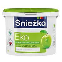 Гипоаллергенная краска для стен и потолков Sniezka 1,4кг