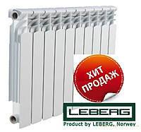 Биметаллический радиатор отопления LEBERG HFS-500  (Норвегия/Китай)