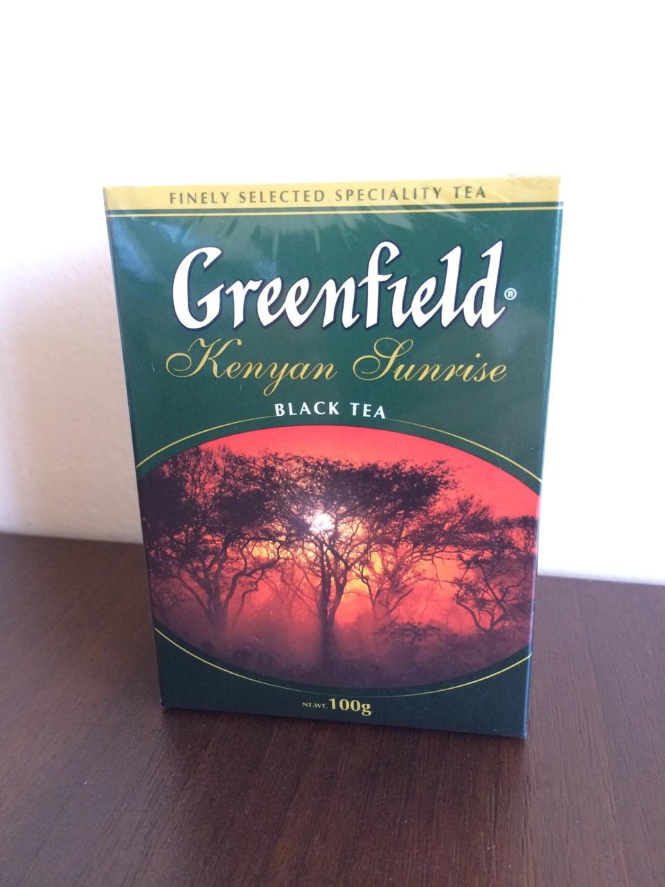 Чай Greenfield Kenyan Sunrise 100 гр