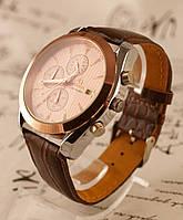 Часы мужские OMEGA Seamaster Brown Таймер Хронограф. Копия!