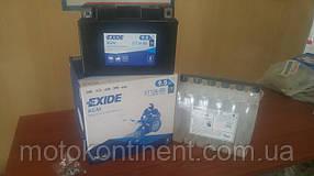Мото аккумуляторы  EXIDE  2 - 32Ah гелевые,сухозаряженные AGM,кислотные