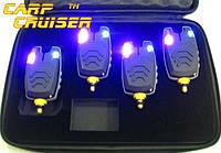 Сигнализаторы Поклевки FA210-4A электронные набор БЕЗ пейджера и БЕЗ привязки к пейджеру, для карповой ловли , фото 1