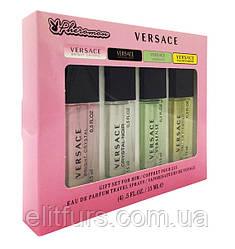 Подарочный набор Versace с феромонами 4 по 15ml