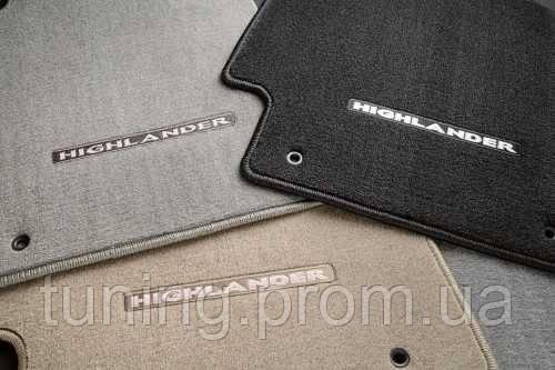 Коврики салона текстильные Toyota Highlander 2010-2014