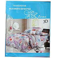 Комплект постельного белья 3D Лиша двойка