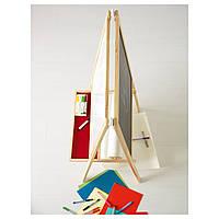 IKEA МОЛА Доска-мольберт, хвойное дерево, белый : 50021076, 500.210.76