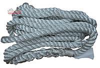 Трос буксировочный канатный АВТОКАР ✔ нагрузка: 5,7 тонн  ✔ длина: 6 метров ✔ Ø20