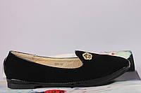 Туфли женские чёрные 36