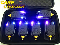 Электронные Сигнализаторы Поклевки 6 шт CarpCruiser FA210-6A Набор БЕЗ пейджера, БЕЗ привязки к пейджеру, фото 1