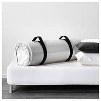 IKEA МАЛФОРС Пенополиуретановый матрас, средней жесткости, белый : 40272287, 402.722.87