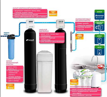 Решение для воды с сероводородом, железом и повышенной жесткостью, фото 2