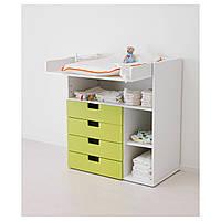 IKEA СТУВА Пеленальный/письменный стол, белый : 20225334, 202.253.34
