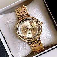 Часы женские наручные Louis Vuitton золотые, часы дропшиппинг