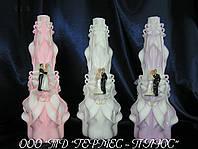 Свадебные резные свечи ручной работы
