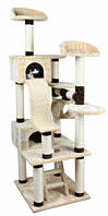 """Игровой комплекс для кота Nrixie """"Adiva"""" 209см,беж/коричневый"""