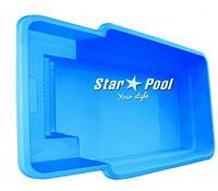 Чаша для бассейна Star Pool Atalia 6,70x3,25x1,55 м, фото 1