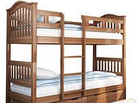 Двухъярусная кровать Максим натуральное дерево
