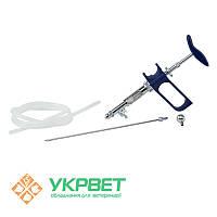 Ветеринарный шприц Socorex со шлангом, 1,0 мл