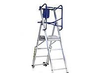 Двусторонняя складная лестница-помост SVELT FLYLIGHT 5 ступени