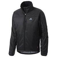 Куртка спортивная мужская непромокаемая adidas Terrex Primaloft Jacket Black G80381 адидас